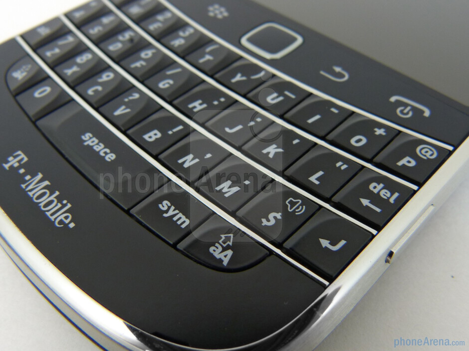 The keyboard experience is amazing - RIM BlackBerry Bold 9900 Review