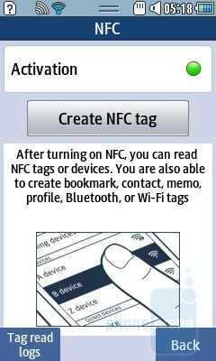 NFC app - Samsung Wave 578 Review