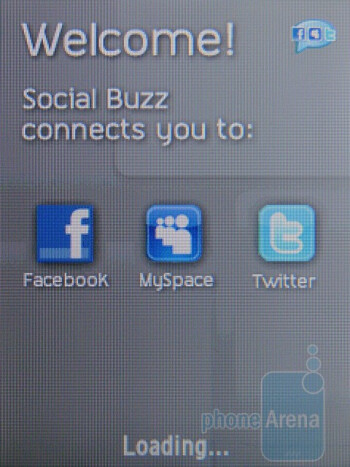 The Social Buzz app helps you stay socially connected - Samsung Gravity TXT Review