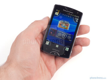The Sony Ericsson Xperia mini is designed to be stylish and compact - Sony Ericsson Xperia mini Review