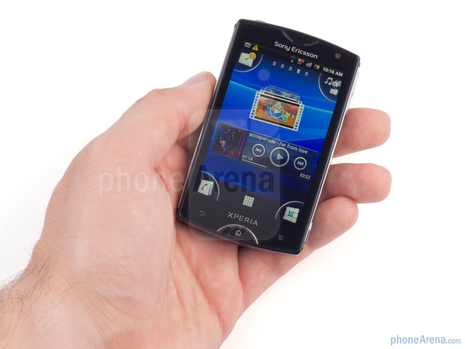 The Sony Ericsson Xperia mini is designed to be stylish and compact - Sony Ericsson Xperia mini Review