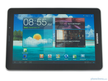 The Samsung Galaxy Tab 7.7 uses a Super AMOLED Plus display - Samsung Galaxy Tab 7.7 Preview