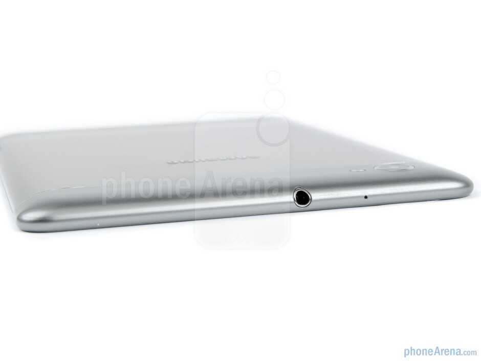 Top side with 3.5 mm jack - Samsung Galaxy Tab 7.7 Preview