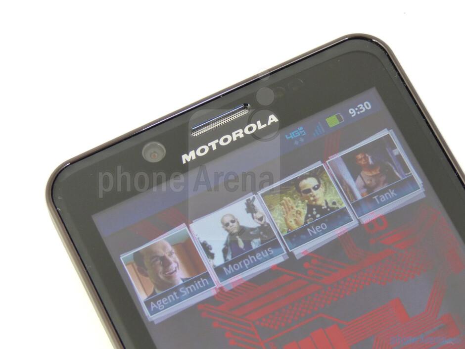 Video call camera - Motorola DROID BIONIC Review