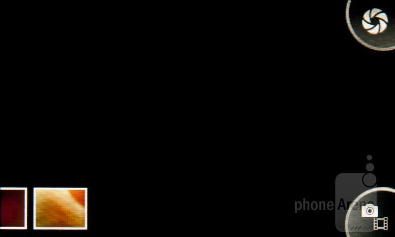 Camera interface - Sony Ericsson Mix Walkman Review