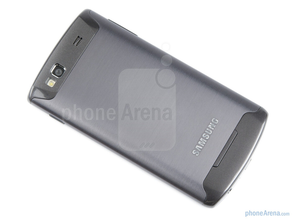 The back - Samsung Wave 3 Preview