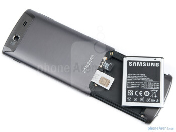 Battery compartment - Samsung Wave 3 Preview