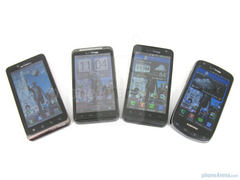 Motorola DROID BIONIC vs HTC ThunderBolt vs Samsung Droid Charge vs LG Revolution