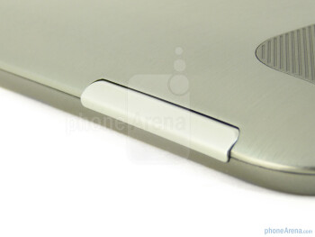 Volume rocker - HTC Jetstream Review