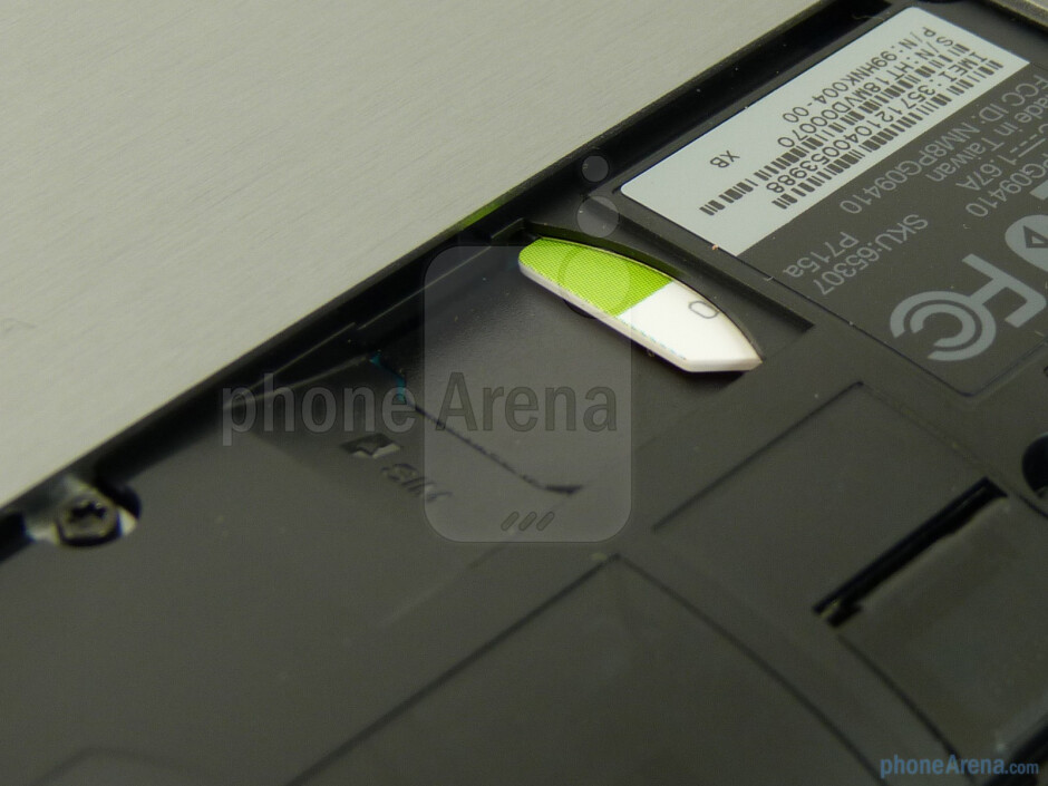 SIM card slot - HTC Jetstream Review