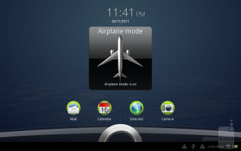 HTC Jetstream runs Android Honeycomb with Sense UI on top of it - HTC Jetstream Review
