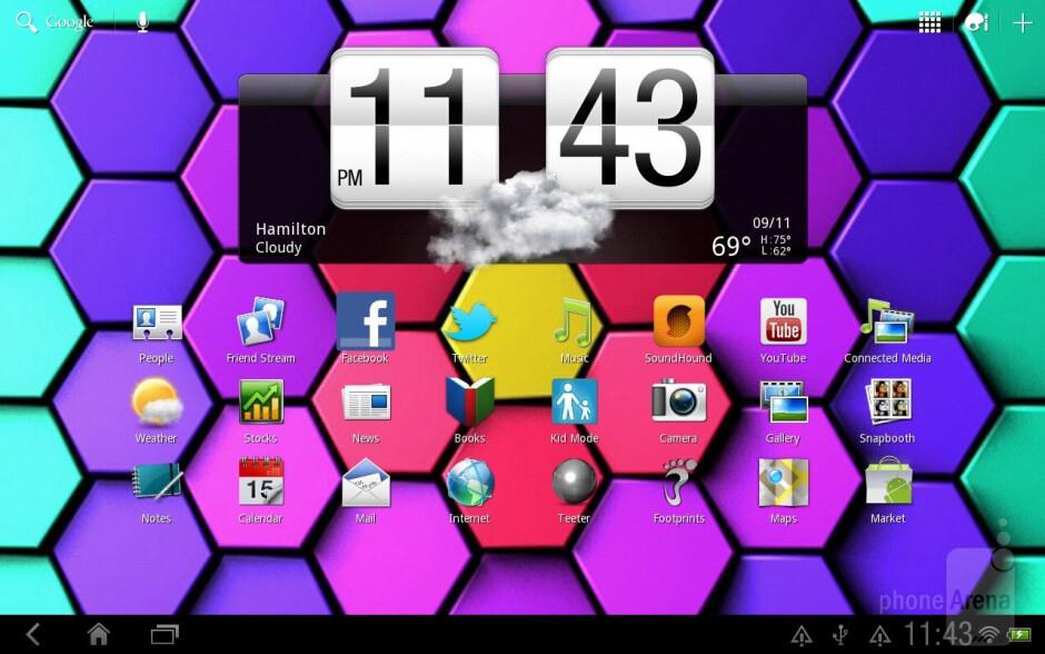 HTC Jetstream runs Android Honeycomb with Sense UI - HTC Jetstream vs Apple iPad 2