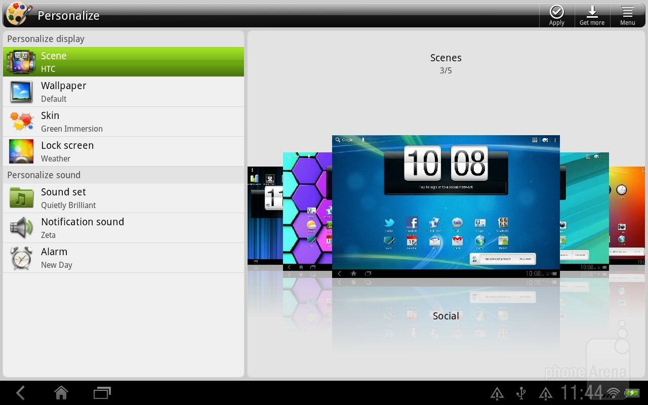 Htc Jetstream Review Interface Organizer And Messaging