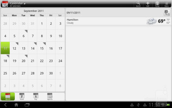Calendar and calculator apps - HTC Jetstream Review