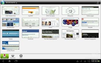 Browsing the web with the HTC Jetstream - HTC Jetstream vs Apple iPad 2