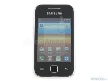 "The Samsung Galaxy Y has a basic 3"" LCD display with 240x320 pixels of resolution - Samsung Galaxy Y Preview"
