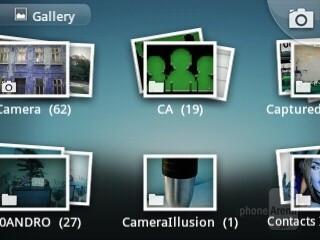 Gallery - Samsung Galaxy Y Preview