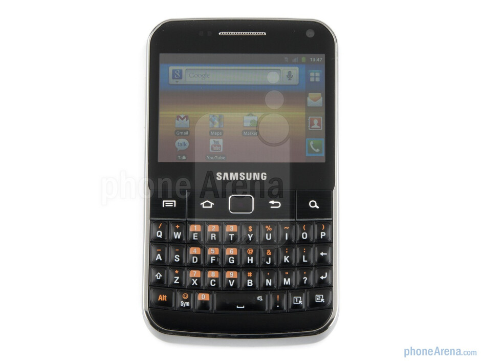 """The Samsung Galaxy M Pro comes with a 2.6"""" touchscreen display - QWERTY keyboard - Samsung Galaxy M Pro Preview"""