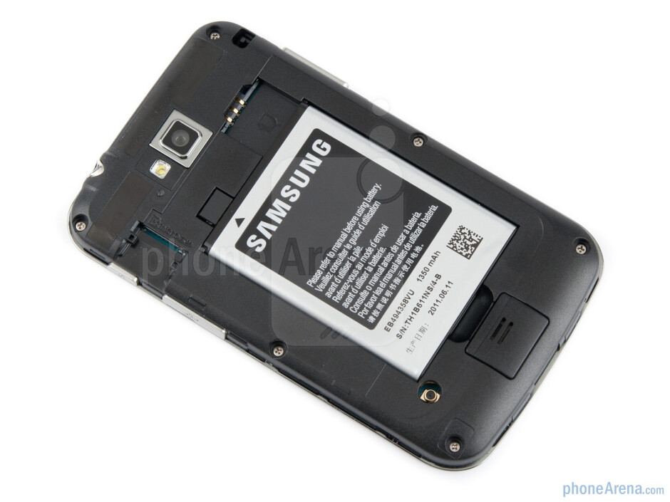 The battery compartment - Samsung Galaxy M Pro Preview