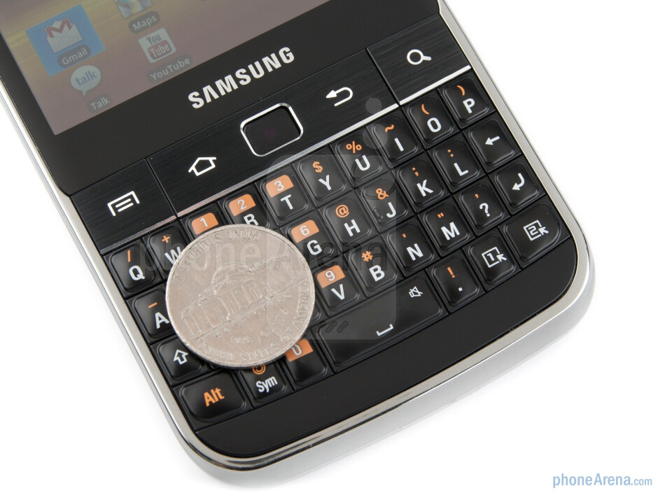 QWERTY keyboard - Samsung Galaxy M Pro Preview