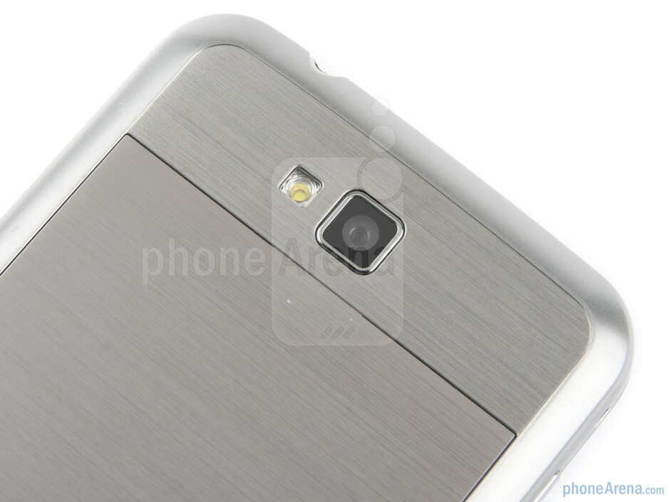 Camera on the back - Samsung Galaxy M Pro Preview
