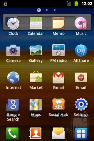 The Samsung GALAXY Xcover runs Android 2.3.4 Gingerbread with the TouchWiz user interface on top of it - Samsung GALAXY Xcover Preview