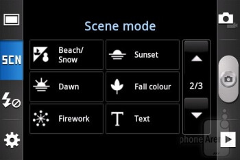 Camera interface - Samsung GALAXY Xcover Preview