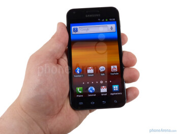 The Samsung Epic 4G Touch is similar to the Galaxy S II - Samsung Epic 4G Touch Review