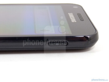 Power button on the right - Samsung Epic 4G Touch Review