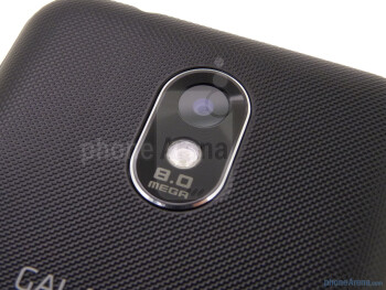 8MP camera with LED flash - Samsung Epic 4G Touch Review