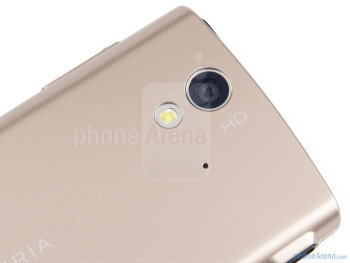 8MP camera with LED light - Sony Ericsson Xperia ray Review