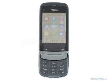 The Nokia C2-03 comes with a 2.6-inch QVGA touchscreen - Nokia C2-03 Review