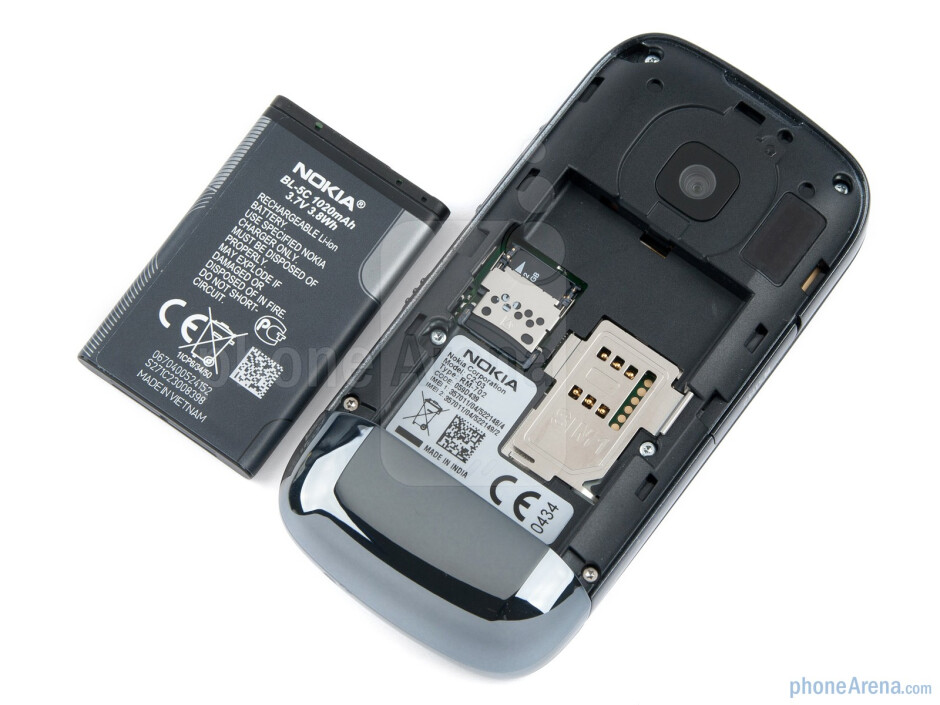 Battery compartment - Nokia C2-03 Review