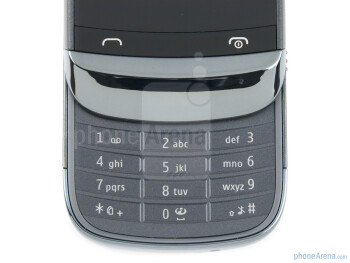 Numeric keypad - The Nokia C2-03 comes with a 2.6-inch QVGA touchscreen - Nokia C2-03 Review