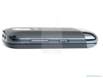 Volume rocker and lock/unlock button on the right - The Nokia C2-03 comes with a 2.6-inch QVGA touchscreen - Nokia C2-03 Review