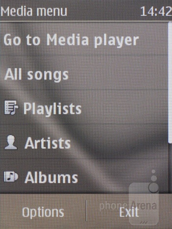 The media player - Nokia C2-03 Review