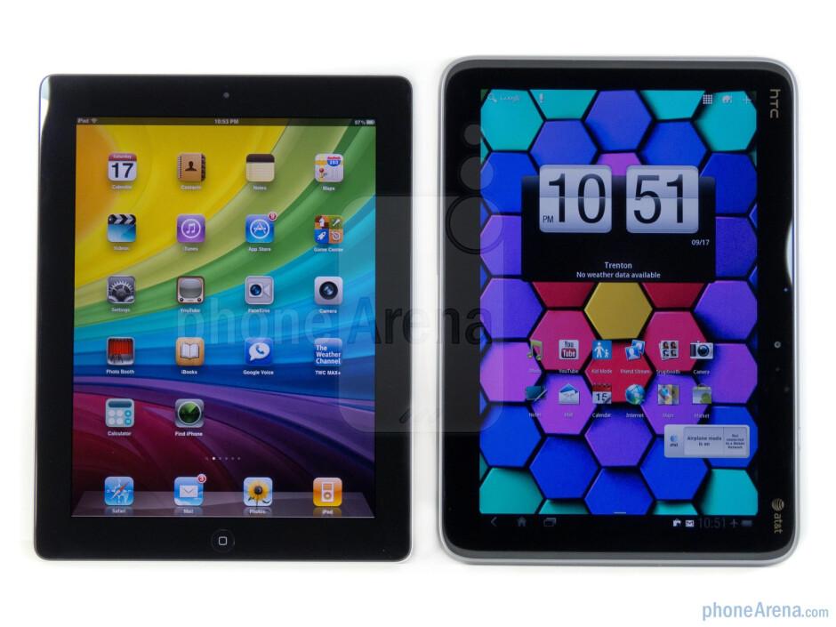HTC Jetstream vs Apple iPad 2
