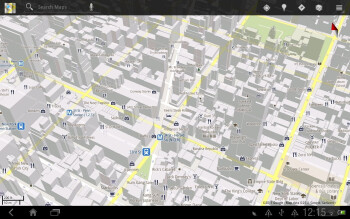 Google Maps - Google branded apps on the HTC Jetstream - HTC Jetstream vs Apple iPad 2