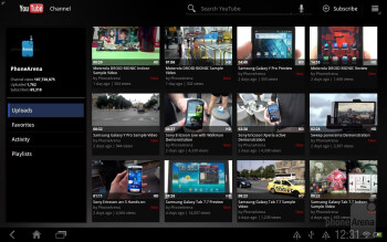 YouTube - Google branded apps on the HTC Jetstream - HTC Jetstream vs Apple iPad 2