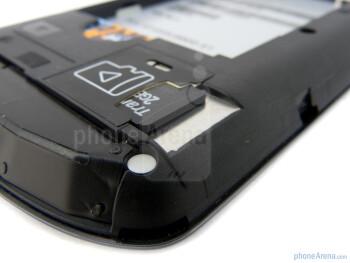 SIM card slot - AT&T Impulse 4G Review