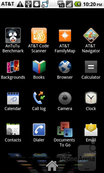 The AT&T Impulse 4G packs Android 2.2 Froyo - AT&T Impulse 4G Review
