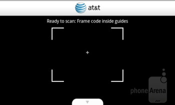 AT&T Code Scanner - Preloaded apps on the AT&T Impulse 4G - AT&T Impulse 4G Review