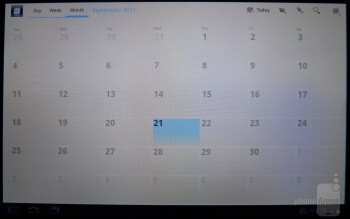 Calendar - Sony Tablet S Review