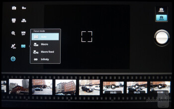 The camera app - Sony Tablet S Review