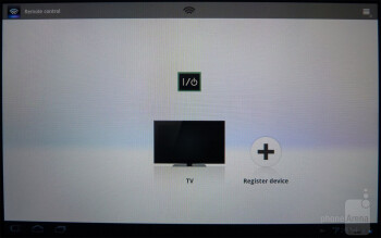 The remote control app - Sony Tablet S Review