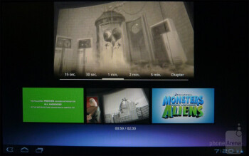 The Sony video gallery - Sony Tablet S Review