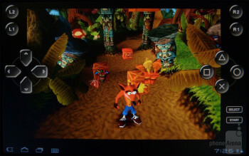 Crash Bandicoot - The Sony Tablet S is PlayStation Certified - Sony Tablet S Review