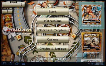Pinball Heroes - The Sony Tablet S is PlayStation Certified - Sony Tablet S Review
