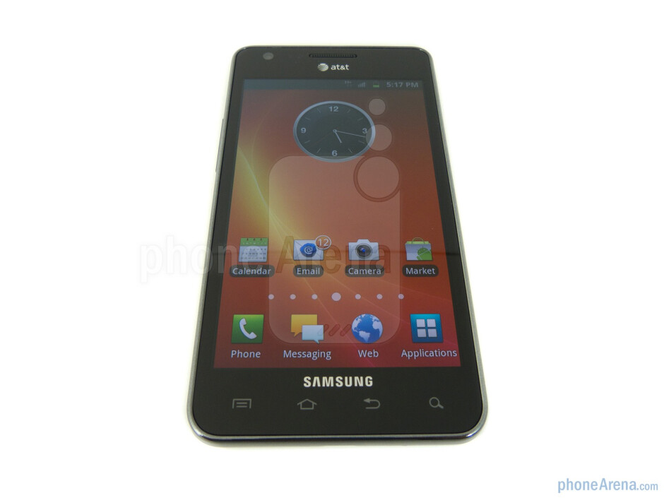 """The Samsung Galaxy S II AT&T keeps true to the original with its 4.3"""" WVGA Super AMOLED Plus display - Samsung Galaxy S II AT&T Review"""