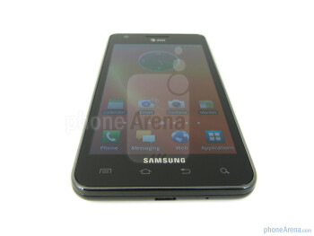 "The Samsung Galaxy S II AT&T keeps true to the original with its 4.3"" WVGA Super AMOLED Plus display - Samsung Galaxy S II AT&T Review"